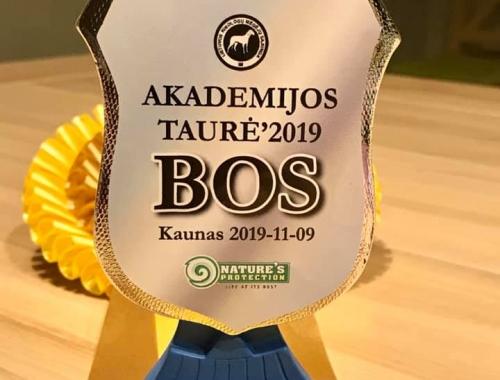 CARINA Młodzieżowym Championem Litwy